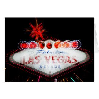 Fabulous Las Vegas Sign Greeting Card