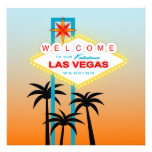 Fabulous Las Vegas Wedding Invitation
