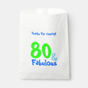 Fabulous Neon Birthday Favour Bags