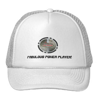 Fabulous Poker Player Hat