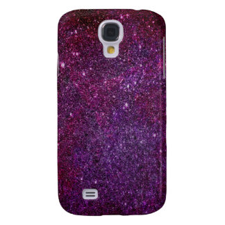 Fabulous purple glitter samsung galaxy s4 cases