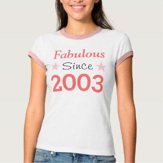 Fabulous Since 2003 Tee Shirt
