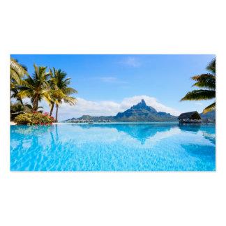 Fabulous tropical seascape business cards