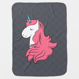 Fabulous Unicorn Baby Blanket