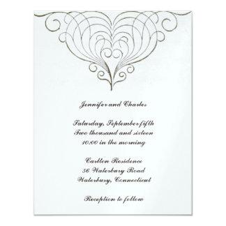Fabulous Vintage Design Wedding Invitation