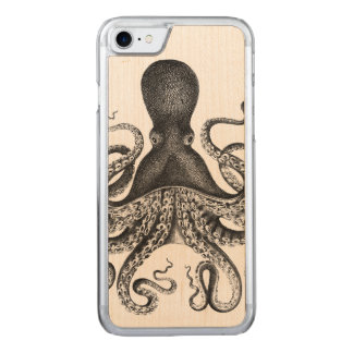 Fabulous {{{ Vintage }}} Octopus Carved iPhone 8/7 Case
