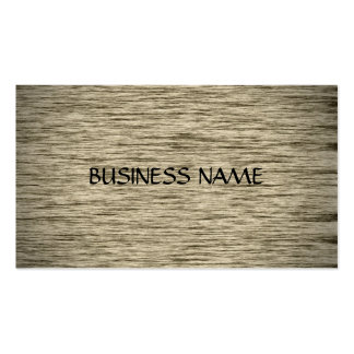 Fabulous Wood Material Business Cards