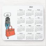 Fabulously Chic 2013 Calendar Mousepad