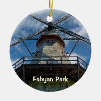 Fabyan Park Dutch Smock Mill Christmas Ornament