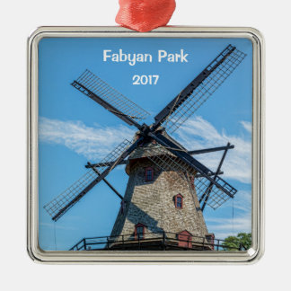 Fabyan Park Dutch Windmill Christmas Ornament