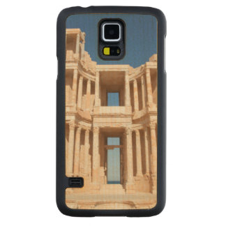 Facade And Stage Of Roman Amphitheater Carved Maple Galaxy S5 Case