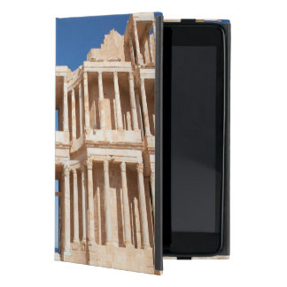 Facade And Stage Of Roman Amphitheater Cover For iPad Mini