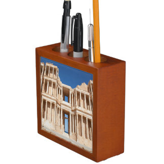 Facade And Stage Of Roman Amphitheater Desk Organiser