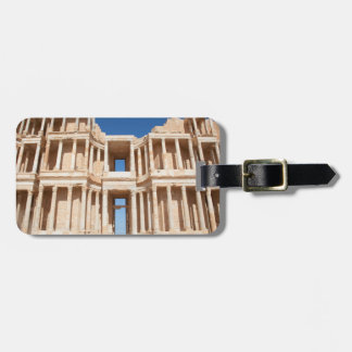 Facade And Stage Of Roman Amphitheater Luggage Tag