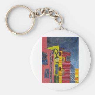 Facade Basic Round Button Key Ring