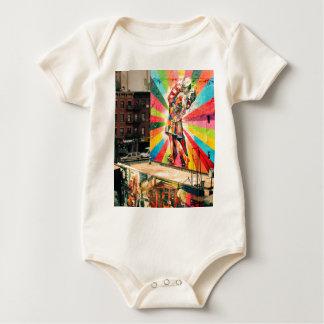 Facade Graffiti Baby Bodysuit