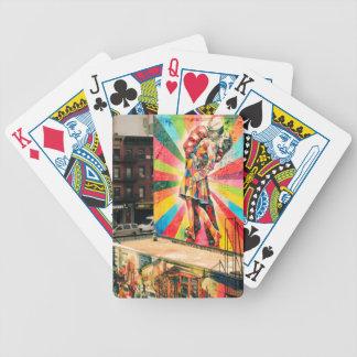 Facade Graffiti Bicycle Playing Cards