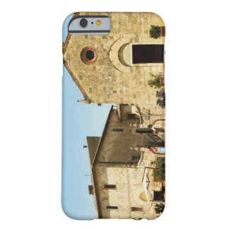 Facade of a church, Romanesque Church, Piazza Barely There iPhone 6 Case
