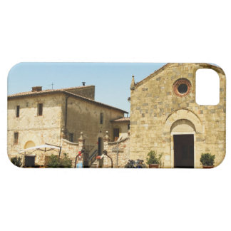 Facade of a church, Romanesque Church, Piazza iPhone 5 Cover
