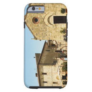 Facade of a church, Romanesque Church, Piazza Tough iPhone 6 Case