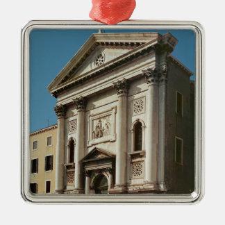 Facade of the Church of Santa Maria della Christmas Ornament