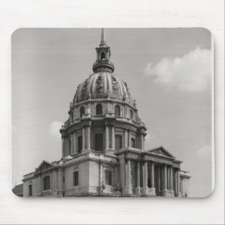 Facade of the Church of St. Louis Mouse Mat