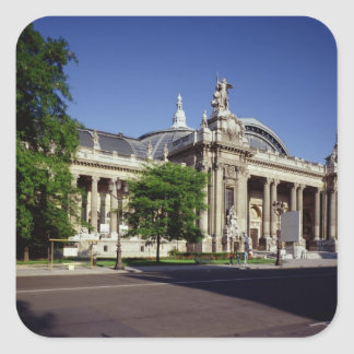 Facade of the Grand Palais Square Sticker