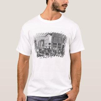 Facade of the Hotel Drouot, Paris, c.1852 (engravi T-Shirt