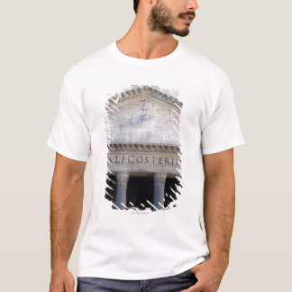 Facade of the Pantheon in Rome, Italy. T-Shirt