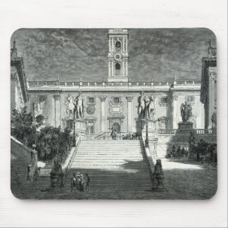 Facade of the Senatorial Palace, Rome Mouse Pad