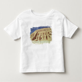 Facade of the Temple of Ramesses II Toddler T-Shirt