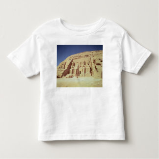 Facade of the Temple of Ramesses II T Shirts