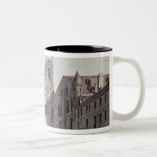 Facades of the Churches Two-Tone Coffee Mug
