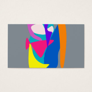 Face 2 Gray Business Card