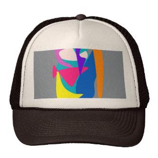 Face 2 Gray Mesh Hats