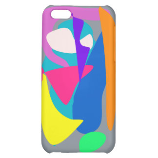 Face 2 Gray iPhone 5C Cases