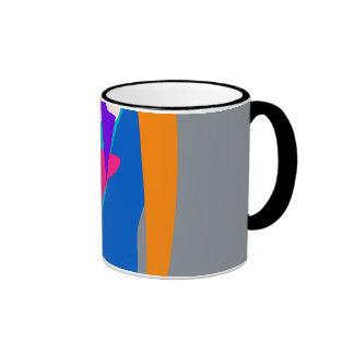 Face 2 Gray Coffee Mug