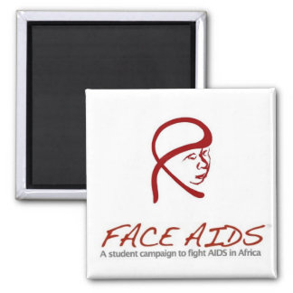 FACE AIDS Magnet
