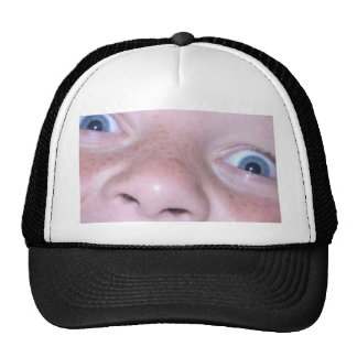 face trucker hat