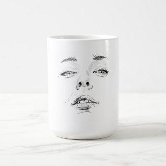 Face Cup Basic White Mug