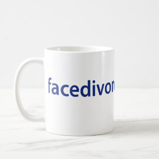 Face Divorce Logo Mug