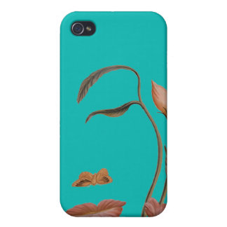 Face Flower Illusion Cases For iPhone 4