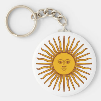 Face in the Sun - Sunshine Key Ring