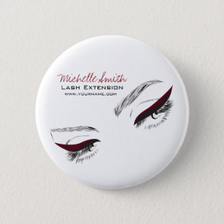 Face long lashes eyeliner Lash Extension 6 Cm Round Badge
