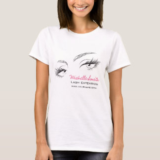 Face long lashes Lash Extension T-Shirt