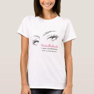 Face long lashes Lash Extension T-Shirt