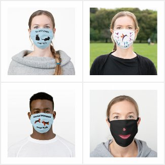 Face Masks Patterned, Cute