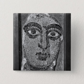 Face of a lady from the Church of St-Ambrosius 15 Cm Square Badge