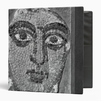 Face of a lady from the Church of St-Ambrosius 3 Ring Binders