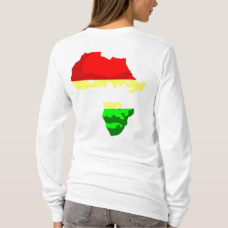FACE OF AFRICA (Womens Hoody) T-Shirt